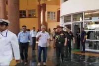 मनोहर पर्रिकर से मिले सेनाध्यक्ष जनरल बिपिन रावत, मुख्यमंत्री ने बजट सत्र में नहीं लिया भाग