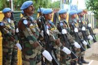 संयुक्त राष्ट्र के मिशन पर गए भारतीय शांति सैनिकों की हो रही सराहना