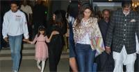 पत्नी और परिवार संग अभिषेक बच्चन ने सेलिब्रेट किया बर्थडे, देखें तस्वीरें