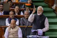 पीएम मोदी ने संसद में दिया अब तक का सबसे लंबा भाषण, तोडा़ अपना रिकॉर्ड!