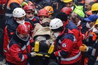तुर्की में इमारत गिरने से 14 लोगों की मौत
