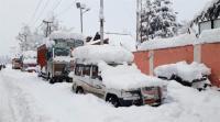 चौथे दिन भी थमे रहे तीन सौ किलोमीटर लंबे जम्मू-श्रीनगर राजमार्ग पर गाडिय़ों के पहिये
