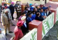 करतारपुर कॉरीडोर: लोक निर्माण विभाग ने किया सीमा का दौरा