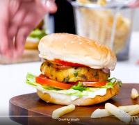 झटपट घर पर तैयार करें मटर पनीर बर्गर