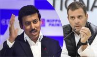सेना के अपमान पर फ्रंटफुट पर आए खेल मंत्री, सुनाई राहुल गांधी को खरी-खरी, नसीहत भी दी