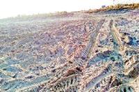 अधिकारी पता नहीं किसने निकाली रेत, डी.सी. को सौंपी रिपोर्ट