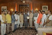 आंध्र के सीएम चंद्रबाबू ने राष्ट्रपति कोविंद से की मुलाकात, मांगा विशेष राज्य का दर्जा