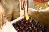 30 बोतल अवैध शराब बरामद, आरोपी महिला फरार