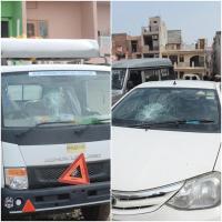 मलोया में 5 गाडिय़ों के शीशे तोड़े