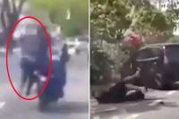 Video: चोर ने खींची Gold चेन, पकड़ने के लिए शख्स ने यूं जान की लगाई बाज़ी