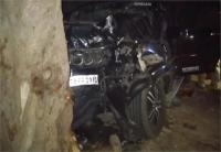 अनियंत्रित होकर पेड़ से टकराई स्कॉर्पियो, हादसे में 5 लोगों की मौत