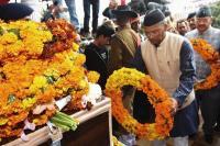 राजौरी ब्लास्ट में शहीद हुए मेजर की अंतिम यात्रा में शामिल हुए CM, नम आंखों से दी श्रद्धाजंलि