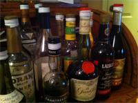 80 बोतलें ठेका शराब देसी बरामद