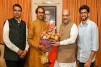 महाराष्ट्रः गठबंधन पर लगी मुहर, भाजपा 25, शिवसेना 23 सीटों पर लडे़गी चुनाव