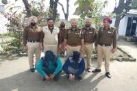 रकम दोगुनी व नई भारतीय करंसी बनाने का झांसा देकर लाखों ठगने वाले 2 आरोपी गिरफ्तार