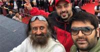श्री श्री रविशंकर के साथ चंडीगढ़ में दिखे कपिल, फैंस बोले- फिर दुनिया बाबाओं के पीछे