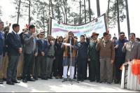 शौर्य स्थल में युवा शपथ कार्यक्रम का हुआ आयोजन, शहीद जवानों की याद में रखा गया मौन