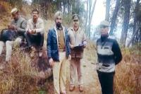 शिकारी की गोली से मौत का मामला, पुलिस ने जंगल में जुटाए साक्ष्य (Video)