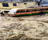 कुल्लू में भारी बरसात से जनजीवन प्रभावित, घरों में घुसा पानी(Video)