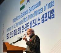 सियोल- भारतीय अर्थव्यवस्था मजबूत, 5 हजार अरब डॉलर का आंकड़ा छूने की ओर अग्रसर: PM मोदी