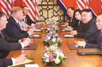 वार्ता बेनतीजा, परमाणु हथियार पर किम-ट्रंप में नहीं हुआ करार