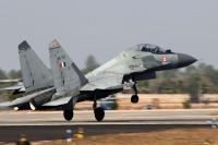 भारत ने सुखोई - 30 लड़ाकू विमान मार गिराने का पाक का दावा किया खारिज