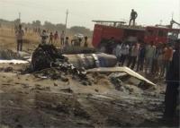 राजस्थान: बीकानेर के पास लड़ाकू विमान मिग-21 क्रैश, पायलट सुरक्षित